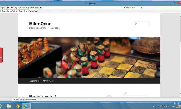 MK Browser Ekran Görüntüleri - 1
