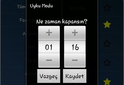 Mobil Radyo Dinle Ekran Görüntüleri - 3