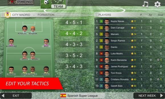 Mobile Soccer League Ekran Görüntüleri - 1