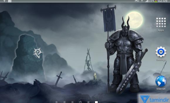 Moon Knight Fantasy Wallpaper Ekran Görüntüleri - 5
