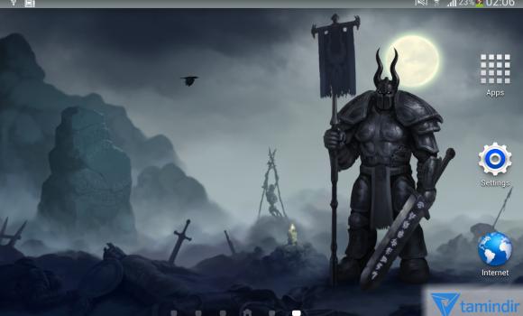 Moon Knight Fantasy Wallpaper Ekran Görüntüleri - 3