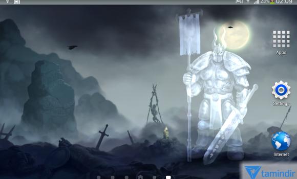 Moon Knight Fantasy Wallpaper Ekran Görüntüleri - 2