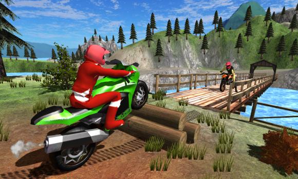 Moto Racer Dirt 3D Ekran Görüntüleri - 3