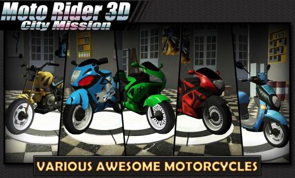 Moto Rider 3D: City Mission Ekran Görüntüleri - 6