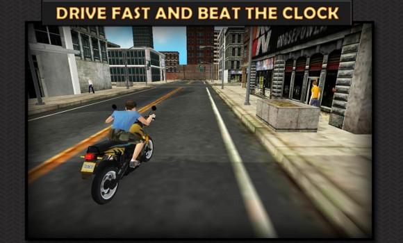 Moto Rider 3D: City Mission Ekran Görüntüleri - 5