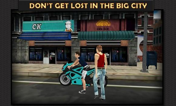 Moto Rider 3D: City Mission Ekran Görüntüleri - 2
