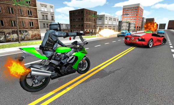 Moto Shooter 3D Ekran Görüntüleri - 3
