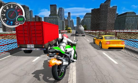 Moto Traffic 3D Ekran Görüntüleri - 3