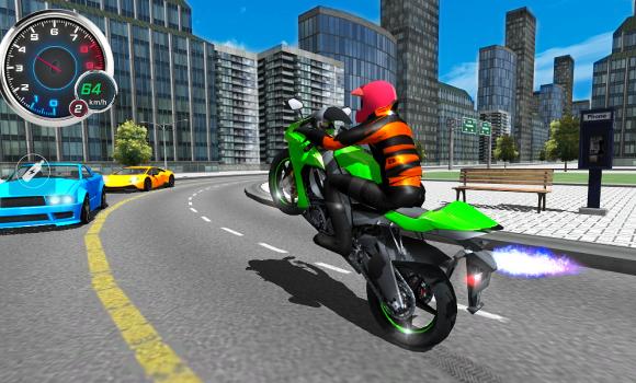 Moto Traffic 3D Ekran Görüntüleri - 2