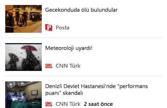 MSN News Ekran Görüntüleri - 1