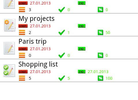 My Lists Ekran Görüntüleri - 4