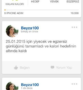 MyFitnessPal Ekran Görüntüleri - 5