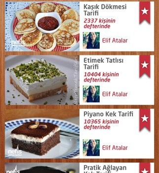 Nefis Yemek Tarifleri Ekran Görüntüleri - 2