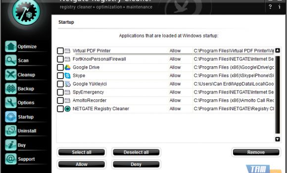 NETGATE Registry Cleaner Ekran Görüntüleri - 2