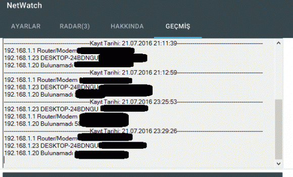 NetWatch Ekran Görüntüleri - 1