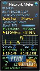 Network Meter Ekran Görüntüleri - 2