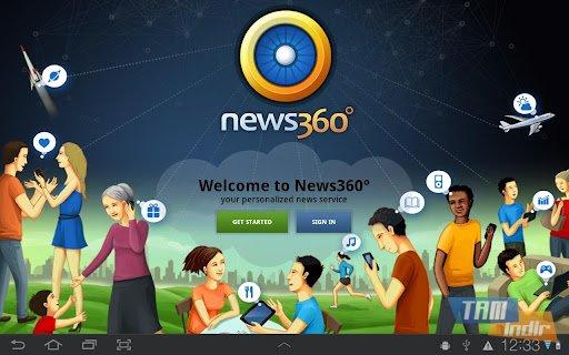 News360 for Tablets Ekran Görüntüleri - 1