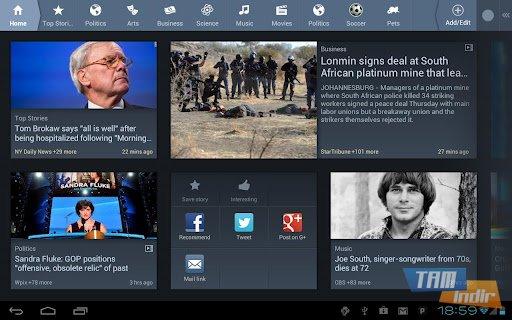 News360 for Tablets Ekran Görüntüleri - 2