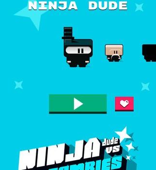 Ninja Dude vs Zombies Ekran Görüntüleri - 1