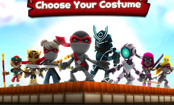NinJump Dash: Multiplayer Race Ekran Görüntüleri - 3