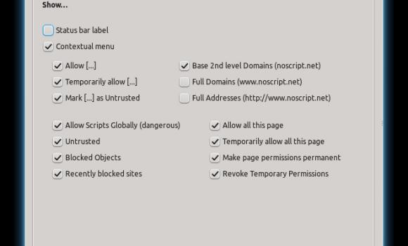 NoScript Ekran Görüntüleri - 3