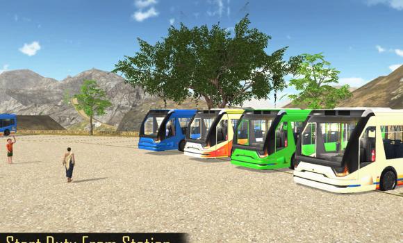 Off Road Tourist Bus Driving Ekran Görüntüleri - 1