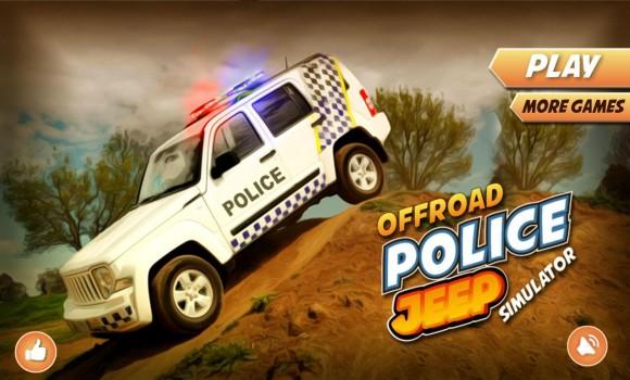 Offroad Police Jeep Simulator Ekran Görüntüleri - 4
