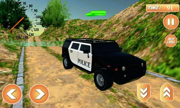 Offroad Police Jeep Simulator Ekran Görüntüleri - 3