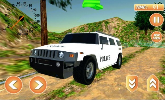 Offroad Police Jeep Simulator Ekran Görüntüleri - 2