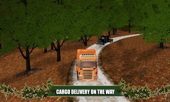 Offroad Truck Cargo Delivery Ekran Görüntüleri - 2