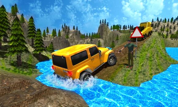 Offroad Yarışı 3D Ekran Görüntüleri - 3