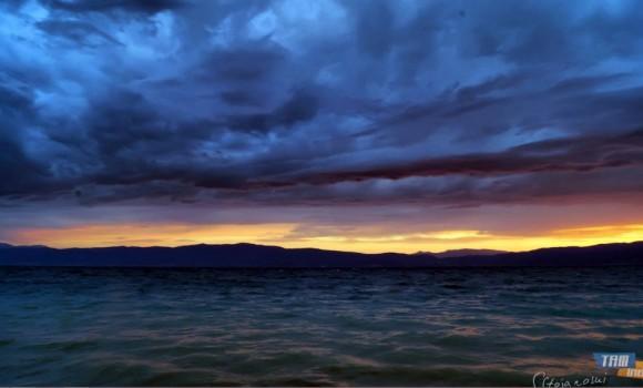 Ohrid Gölü Günbatımları Teması Ekran Görüntüleri - 3