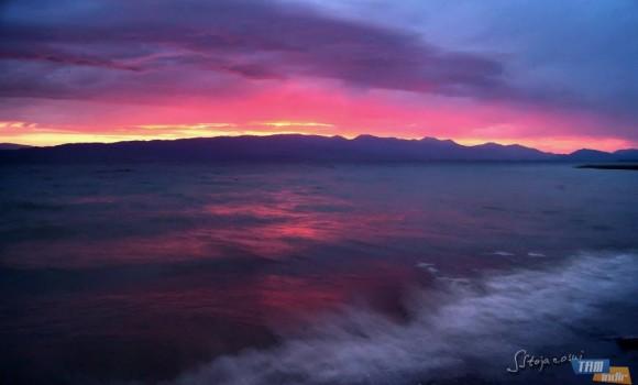 Ohrid Gölü Günbatımları Teması Ekran Görüntüleri - 2