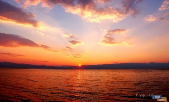 Ohrid Gölü Günbatımları Teması Ekran Görüntüleri - 1