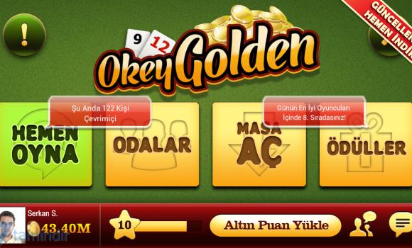 Okey Golden Ekran Görüntüleri - 4
