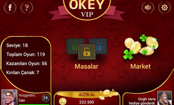 Okey VIP Ekran Görüntüleri - 3
