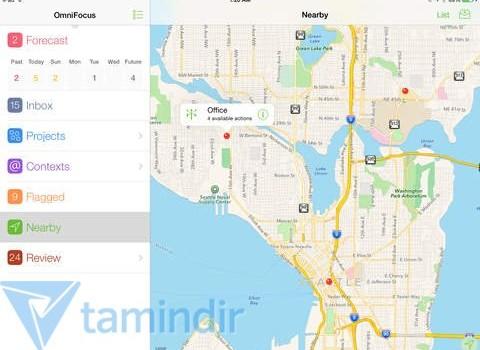 OmniFocus 2 for iPad Ekran Görüntüleri - 2
