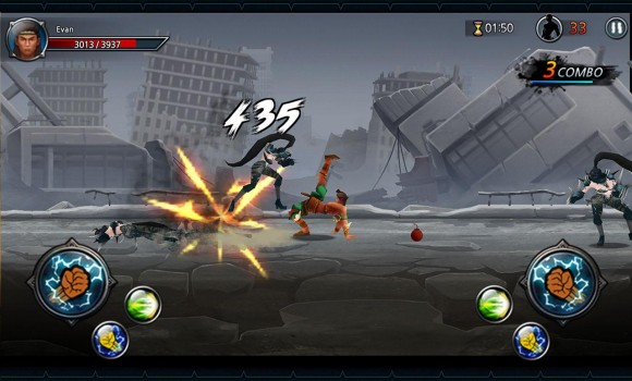 One Finger Death Punch 3D Ekran Görüntüleri - 1