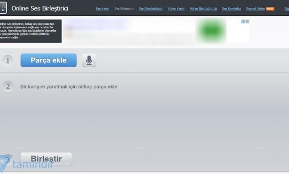 Online Ses Birleştirici Ekran Görüntüleri - 3