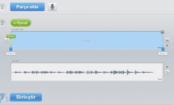 Online Ses Birleştirici Ekran Görüntüleri - 2