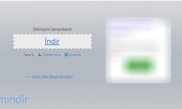 Online Video Dönüştürücü Ekran Görüntüleri - 1