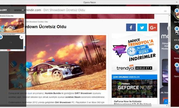 Opera Neon Ekran Görüntüleri - 9