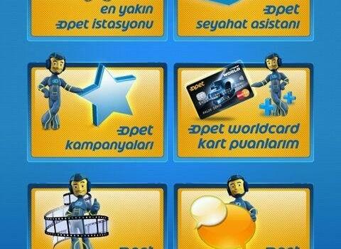 Opet Mobil Uygulaması Ekran Görüntüleri - 1