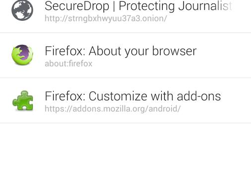 Orfox: Tor Browser for Android Ekran Görüntüleri - 3