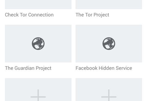 Orfox: Tor Browser for Android Ekran Görüntüleri - 2