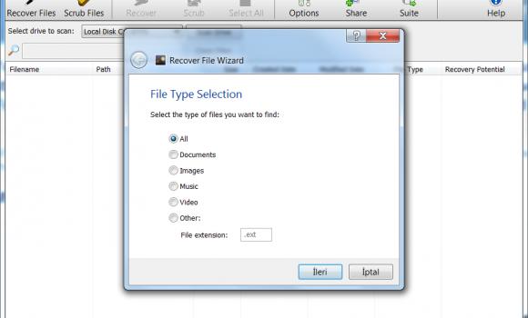 Orion File Recovery Software Ekran Görüntüleri - 4