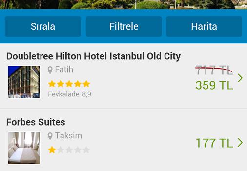 Otel Fırsatları Ekran Görüntüleri - 3