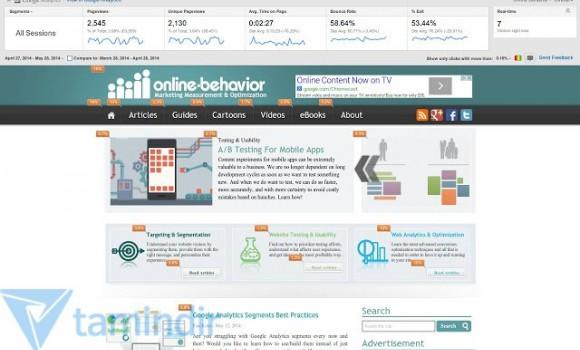 Page Analytics Ekran Görüntüleri - 1