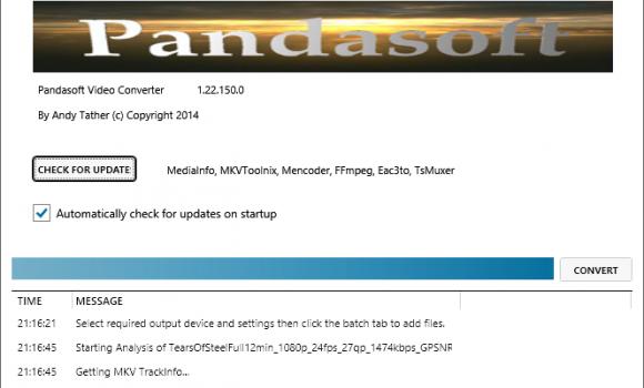 Pandasoft Video Converter Ekran Görüntüleri - 1