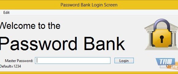 Password Bank Ekran Görüntüleri - 1